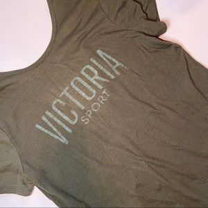 ☀️ • VICTORIA'S SECRET • sport green scoop back
